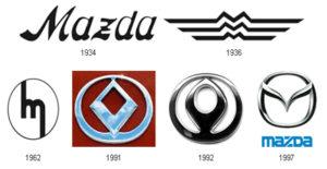 mazda-logo-history