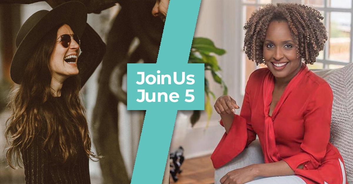 Engaging women virtual summit Jillian and Valorie